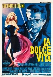 "La Dolce Vita (Cineriz, 1960). Italian 4 - Foglio (53"" X 77.25"").. | Lot  #86314 | Heritage Auctions"