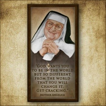 Mother Angelica Inspirational Plaque Confirmation Gift | Etsy